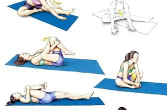 8 поз йоги от боли в шее