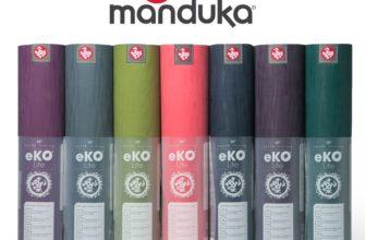 ✅ Коврик для йоги Manduka EKO Lite Mat 4 мм SAGE купить в Москве 👍 в интернет магазине