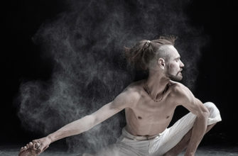 Фотографирование йоги с мукой | Пикабу