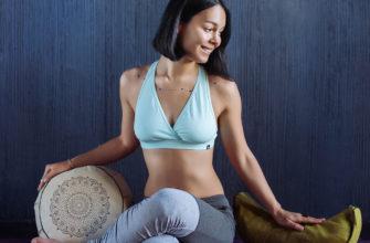 Подушка для йоги и медитации, купить в Москве в магазине YogaTops