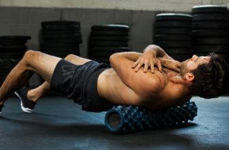 Упражнения с массажным роликом | Официальный сайт RumbleRoller®
