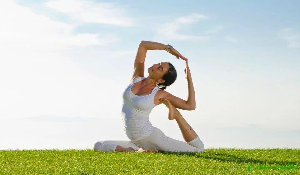 Применение йоги при шейном остеохондрозе. Клиника Бобыря