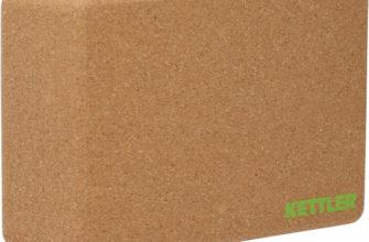 Блок для йоги Kettler бежевый цвет — купить за 999 руб, отзывы в интернет-магазине Спортмастер
