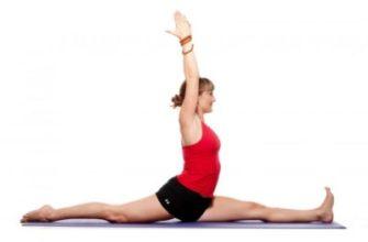 Шпагат в йоге