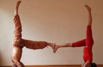 Йога челлендж для двоих: фото, легкие и сложные позы, видео