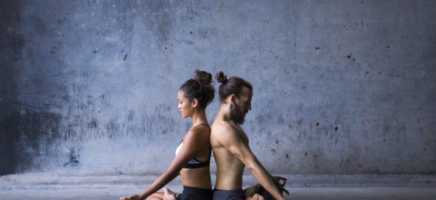 Йога на двоих   Парная йога для начинающих